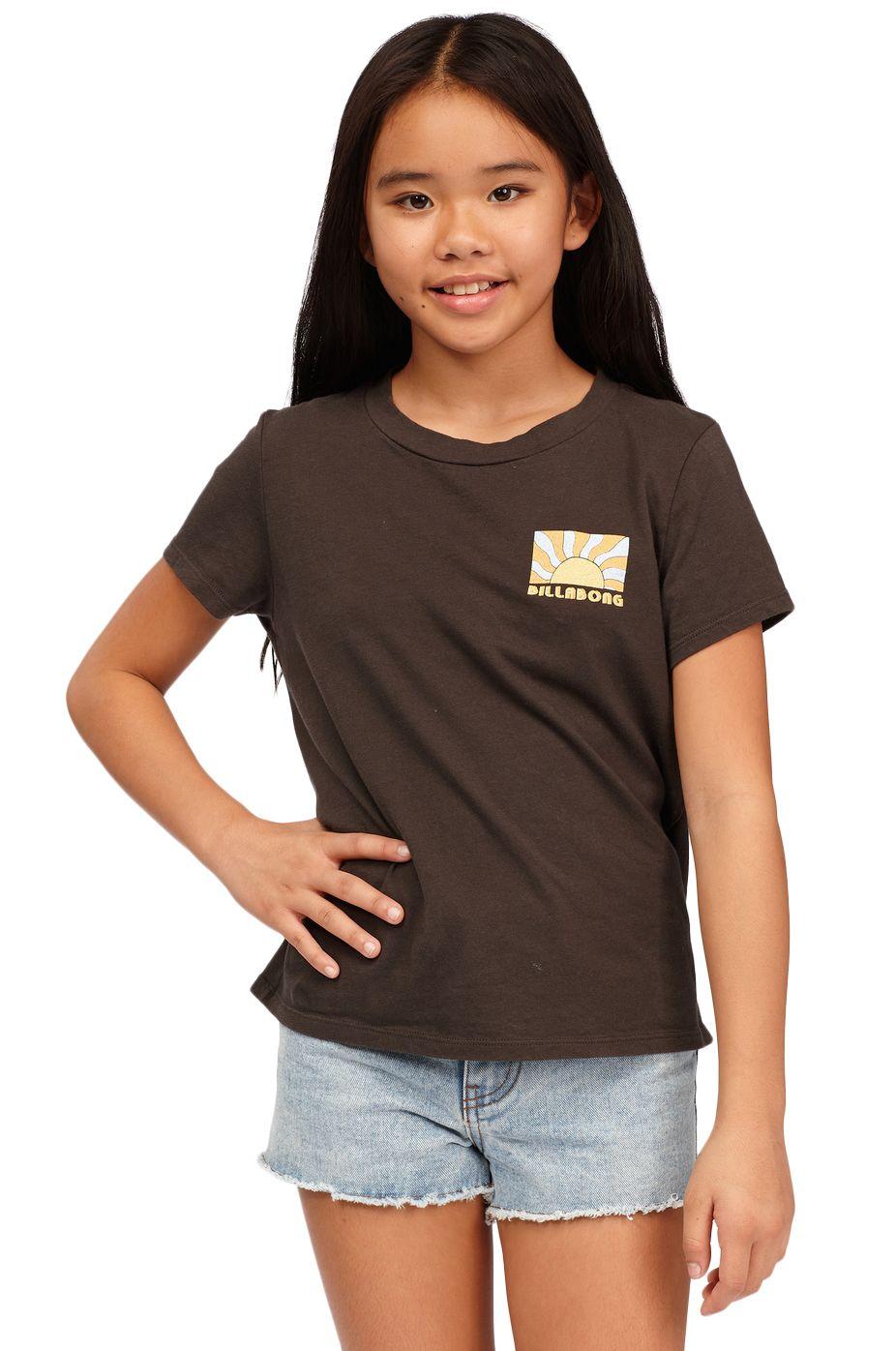Billabong T-Shirt WILDFLOWERS Off Black