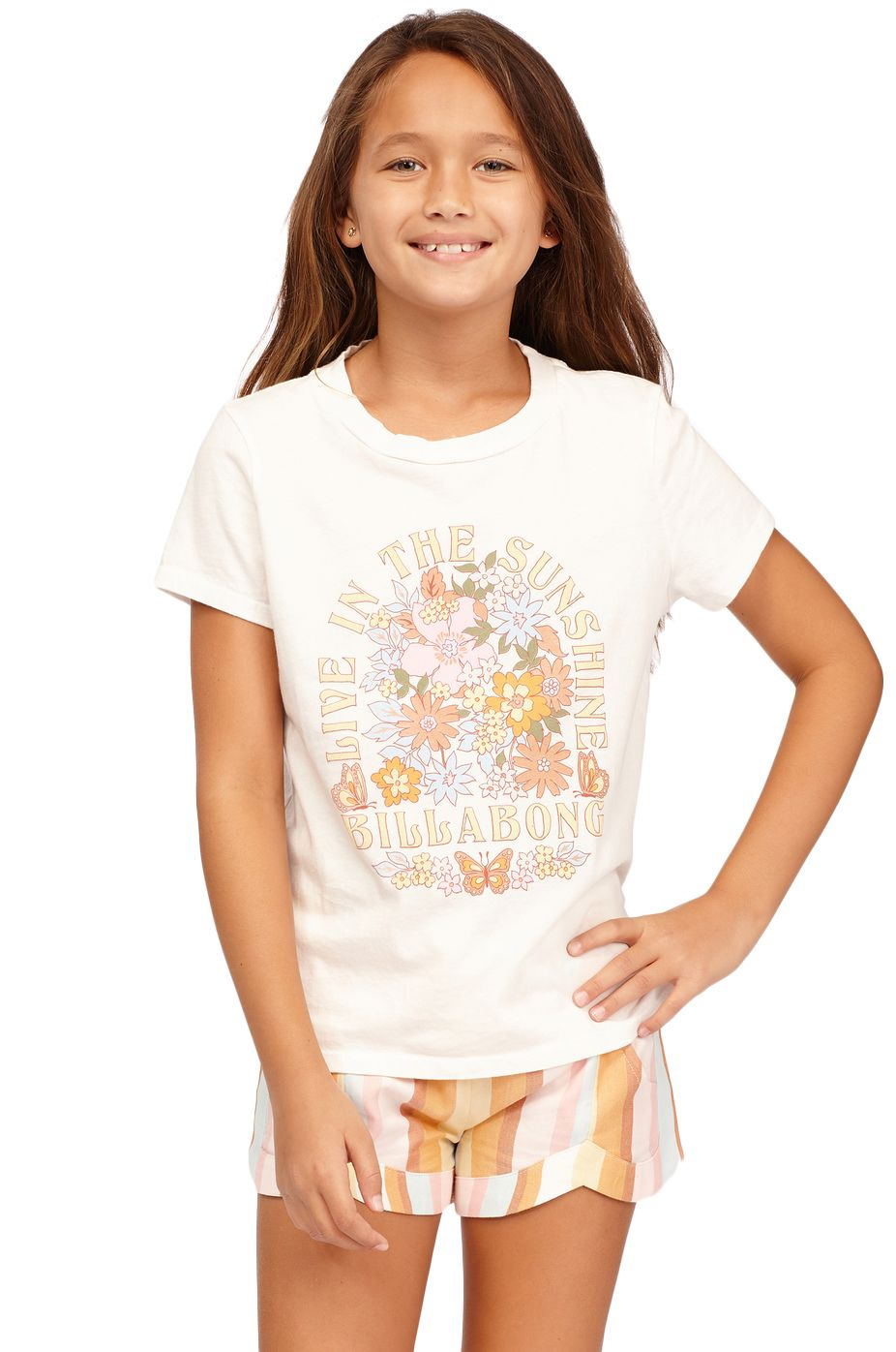 Billabong T-Shirt LIVING IN SUNSHINE Salt Crystal