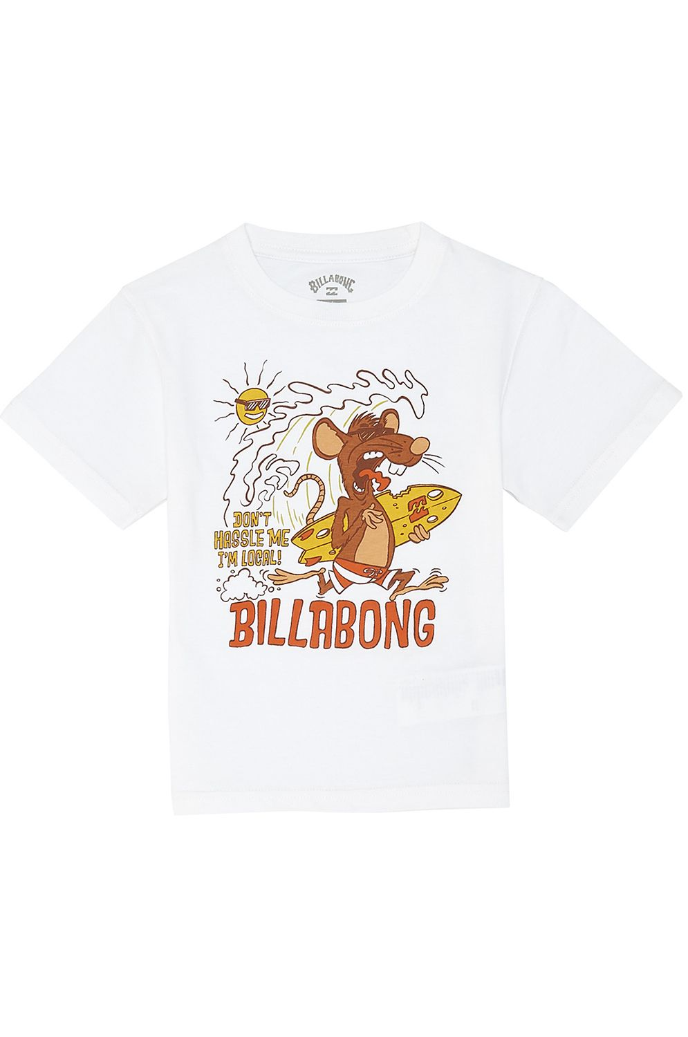 T-Shirt Billabong RAT LOCAL TODDLER White