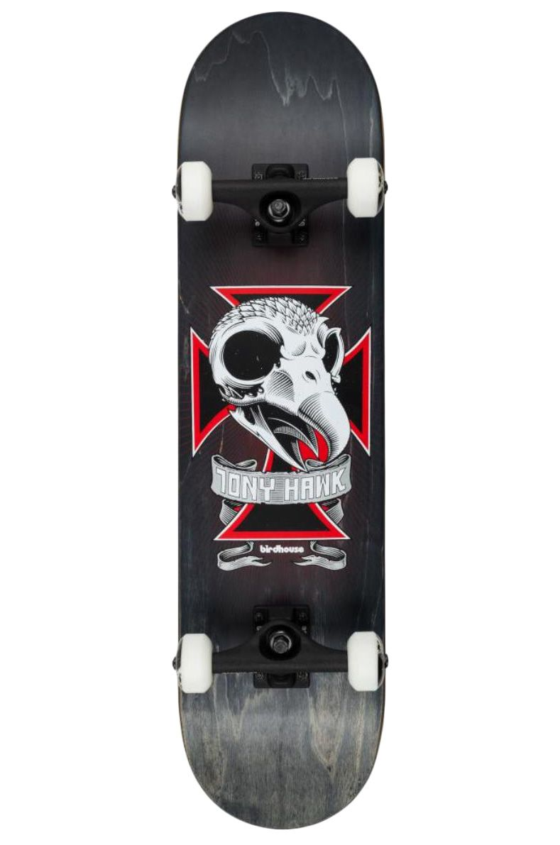 "Birdhouse Skate 8.125"" SKULL 2 Black"