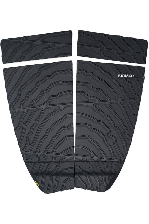Brusco Deck TAILPAD BLACK 4 Black