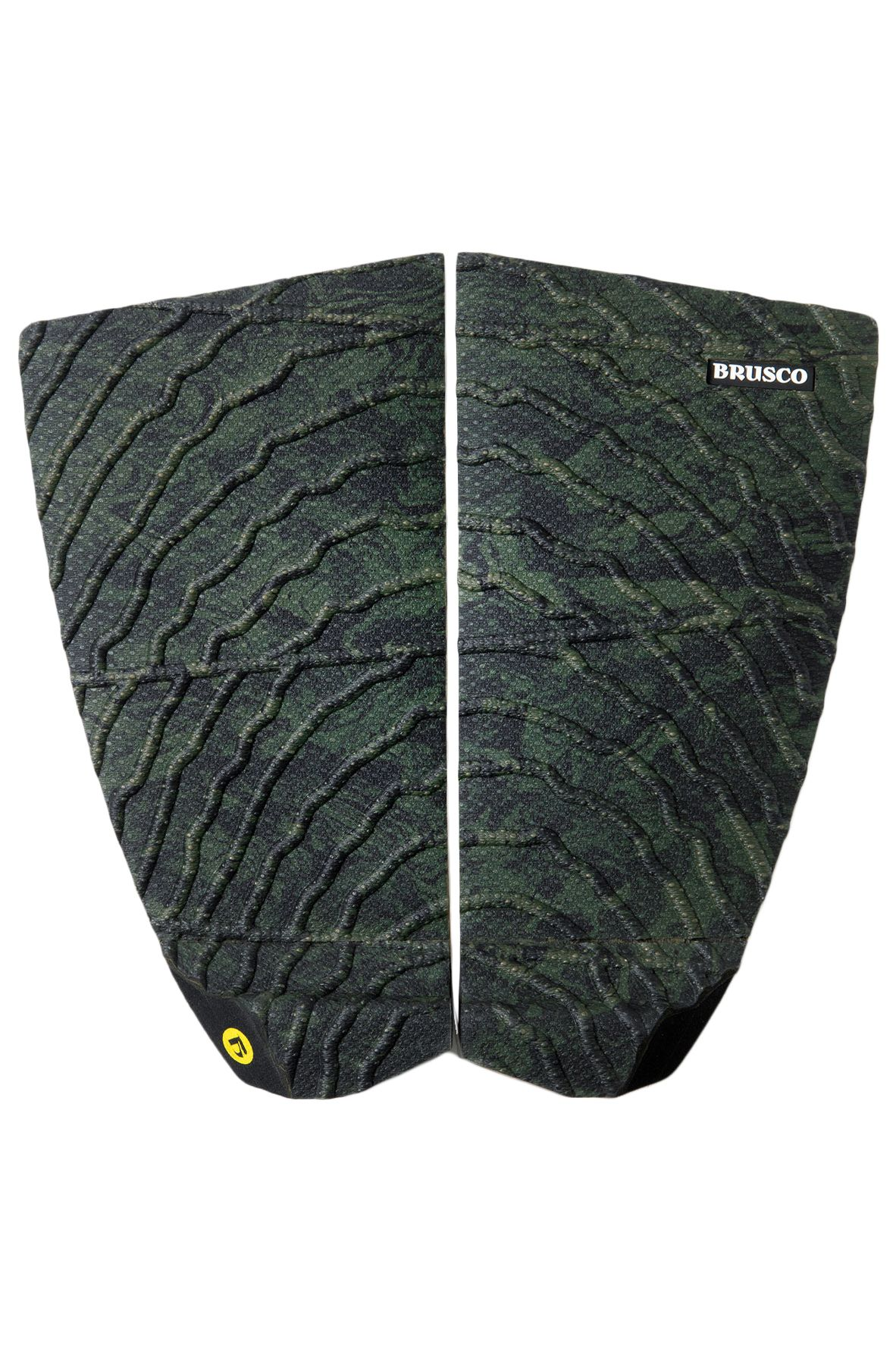Deck Brusco TAILPAD RUGGED GRIP SEAWEED 2PCS Green/Black