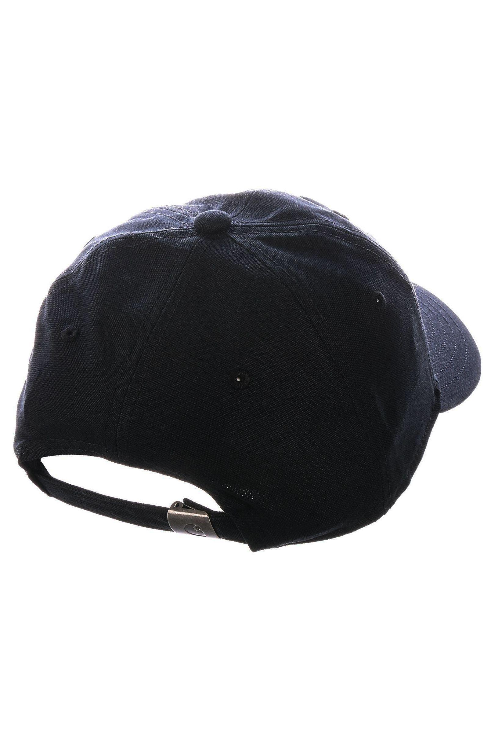 Bone Carhartt WIP CANVAS SCRIPT CAP Black/White
