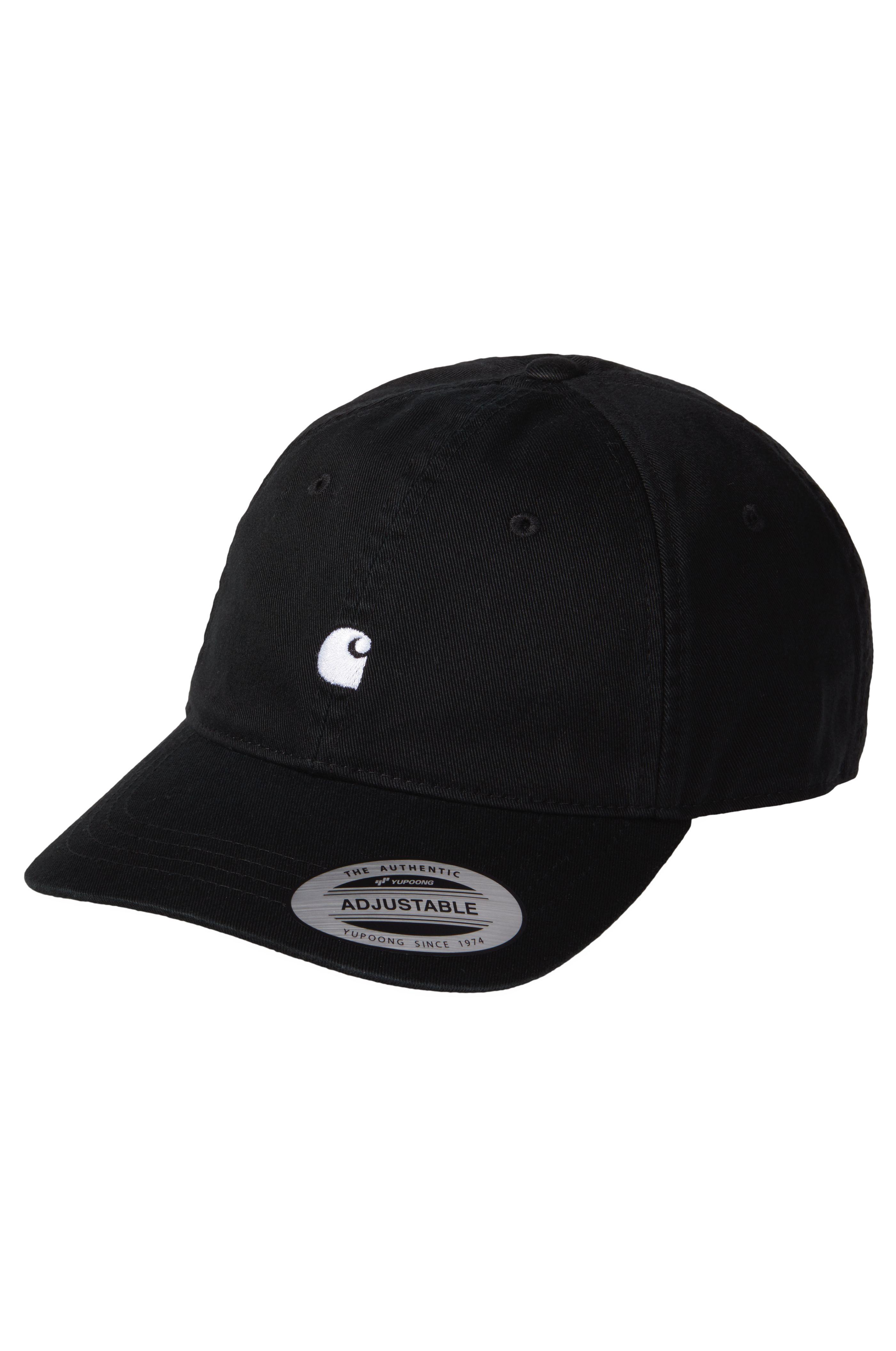 Carhartt WIP Cap   MADISON Black/White