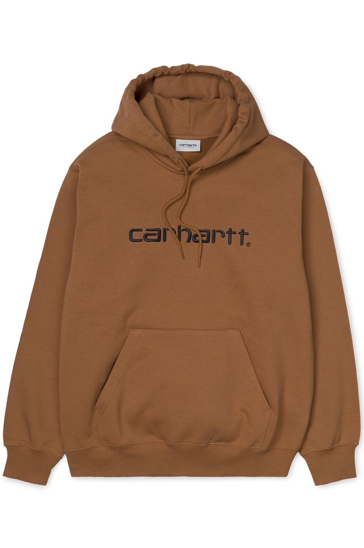 Sweat Capuz Carhartt WIP HOODED CARHARTT SWEATSHIRT Hamilton Brown/Black