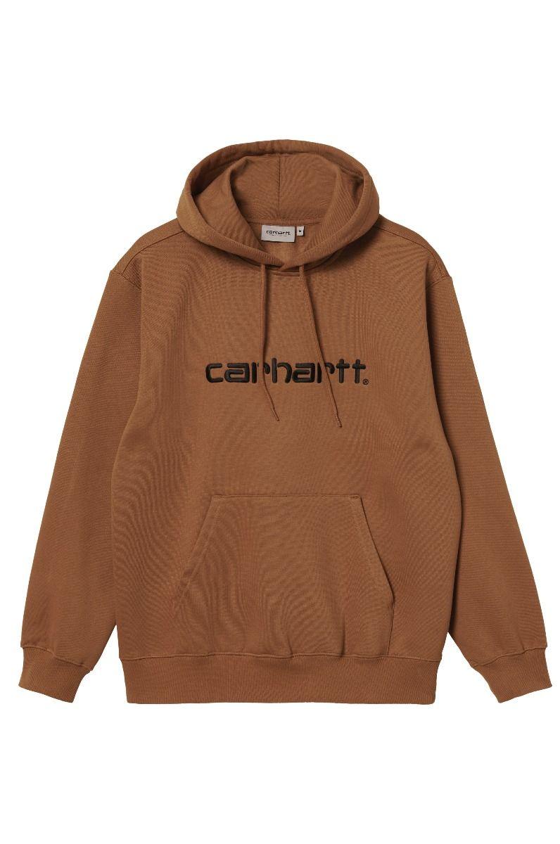 Sweat Capuz Carhartt WIP HOODED CARHARTT SWEATSHIRT Rum/Black