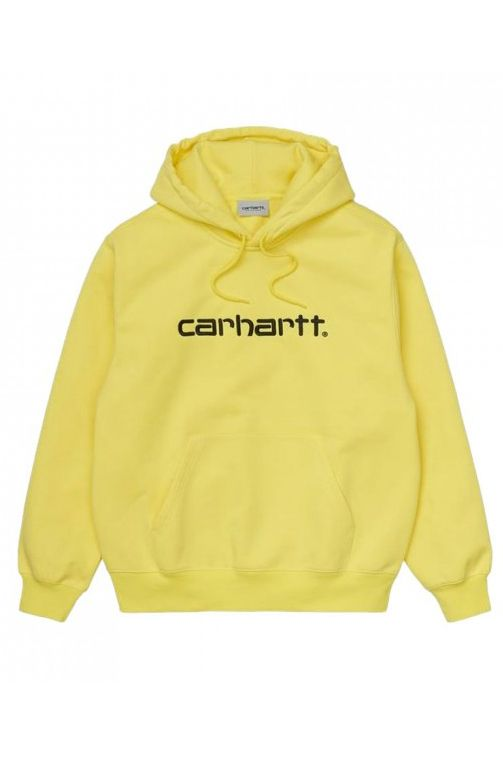 Sweat Capuz Carhartt WIP HOODED CARHARTT SWEATSHIRT Limoncello/Black
