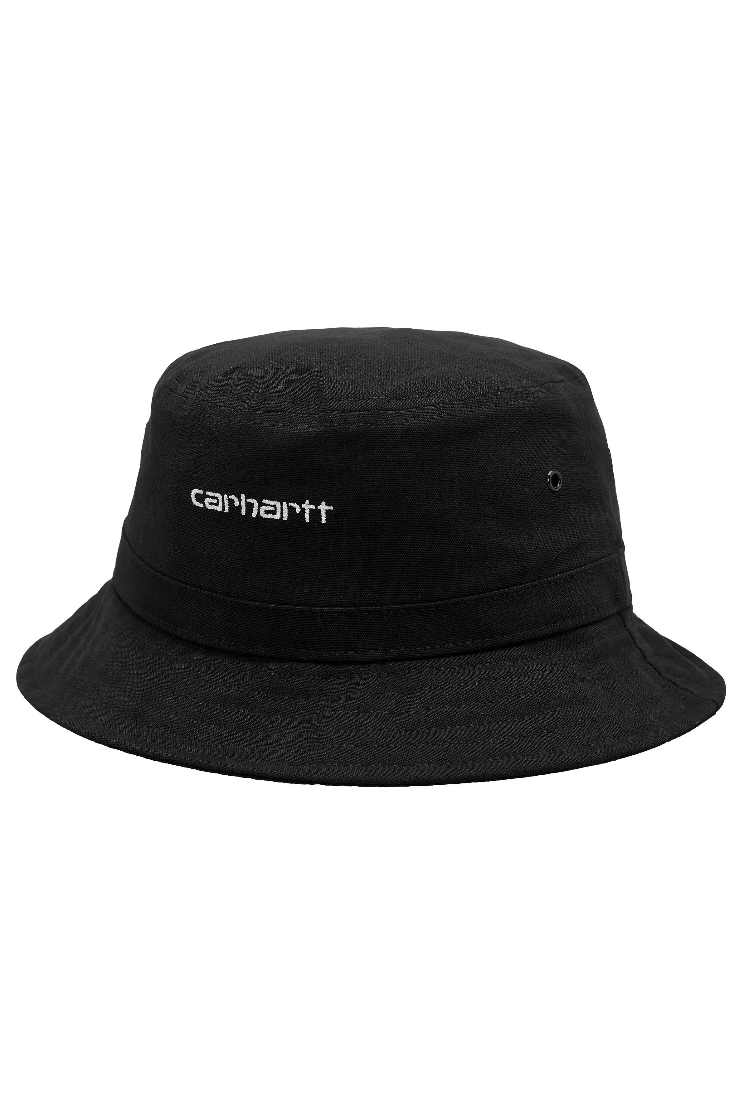 Carhartt WIP Cap SCRIPT BUCKET Black/White