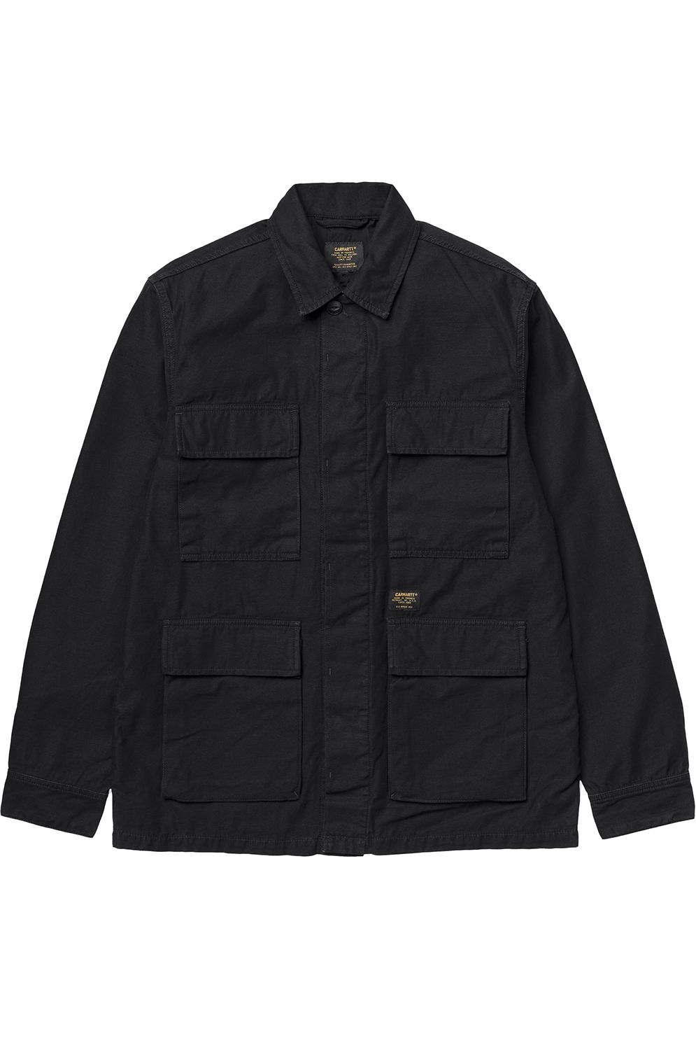 Blusão Carhartt WIP BALFOUR ANDY IRONS Black Stone Washed f38d4533ab1
