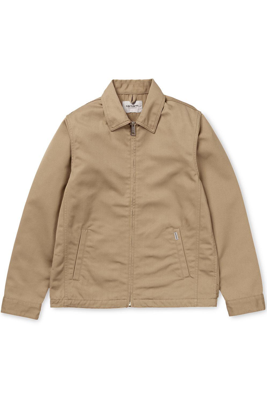 Carhartt WIP Coat MODULAR Leather Rinsed