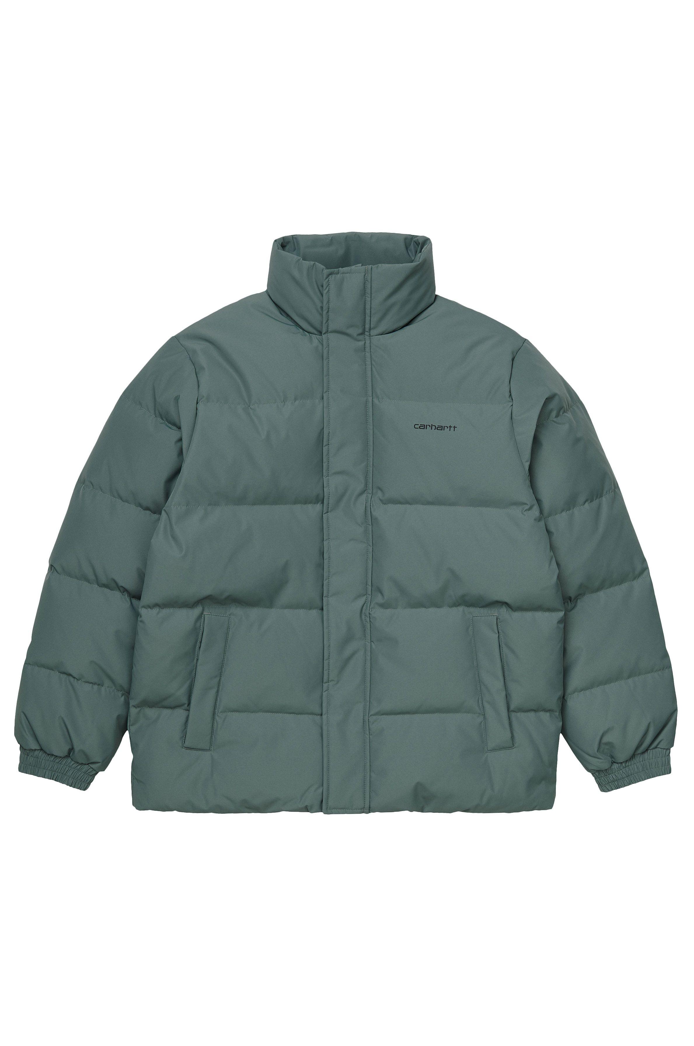 Carhartt WIP Jacket DANVILLE Eucalyptus/Black