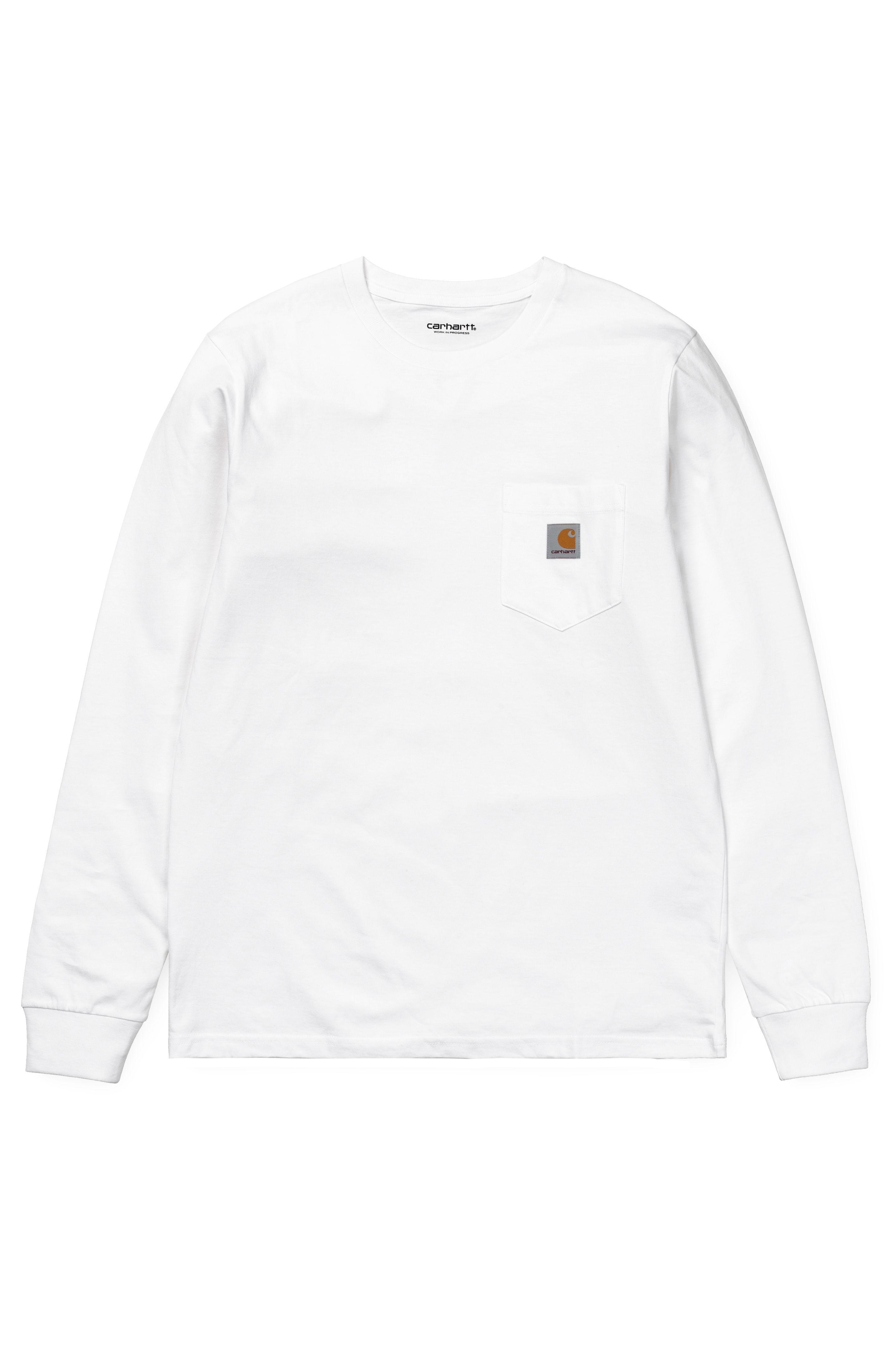Carhartt WIP L-Sleeve POCKET White