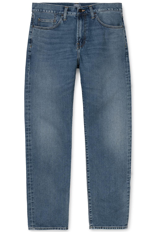 Carhartt WIP Pant Jeans PONTIAC Blue Worn Bleached