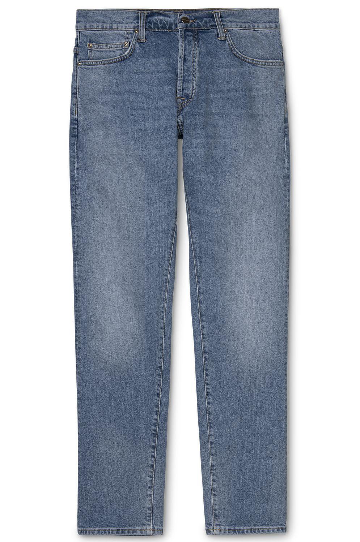 Carhartt WIP Pant Jeans KLONDIKE Blue Worn Bleached