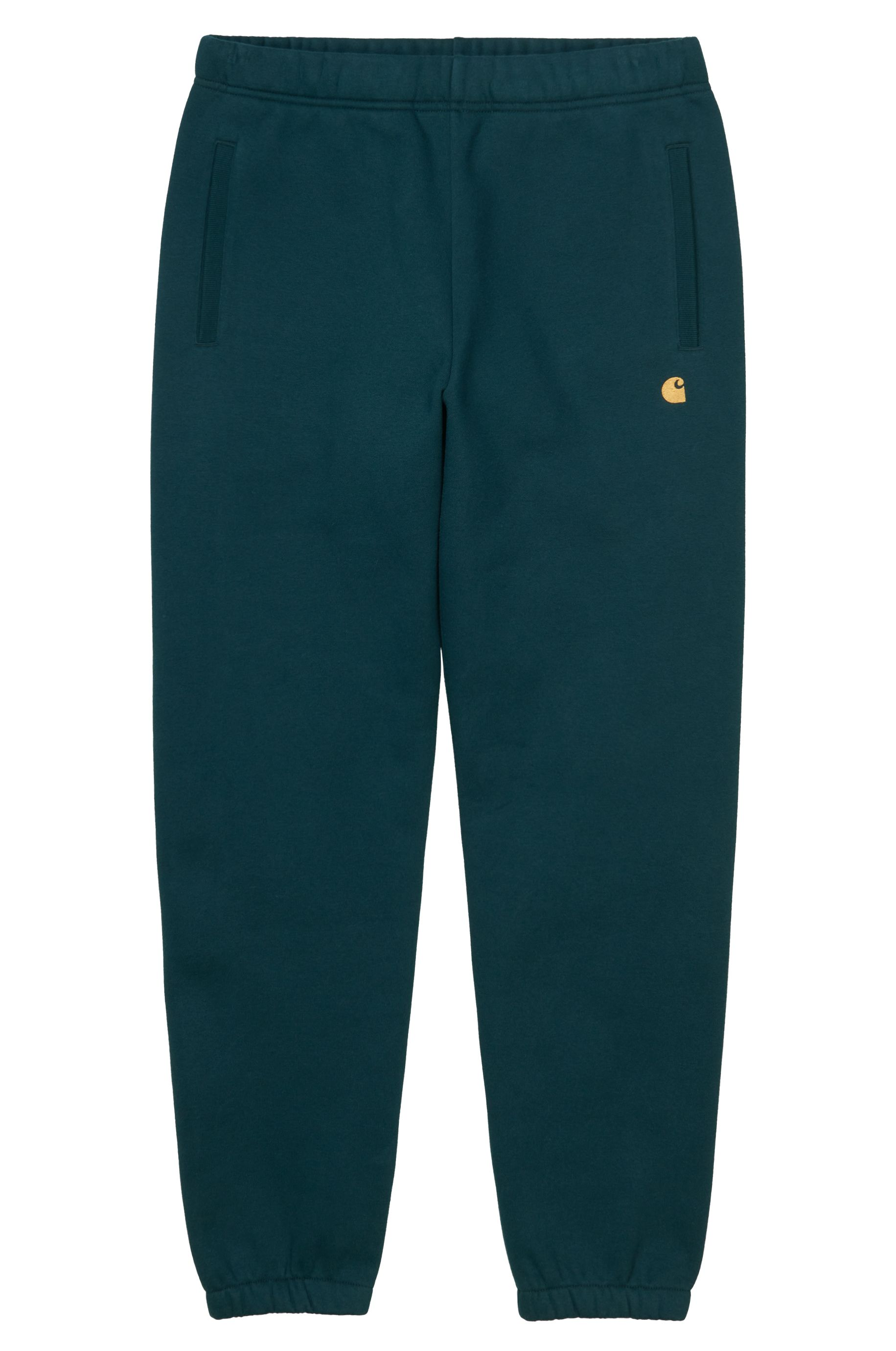 Carhartt WIP Pants CHASE SWEAT Frasier/Gold