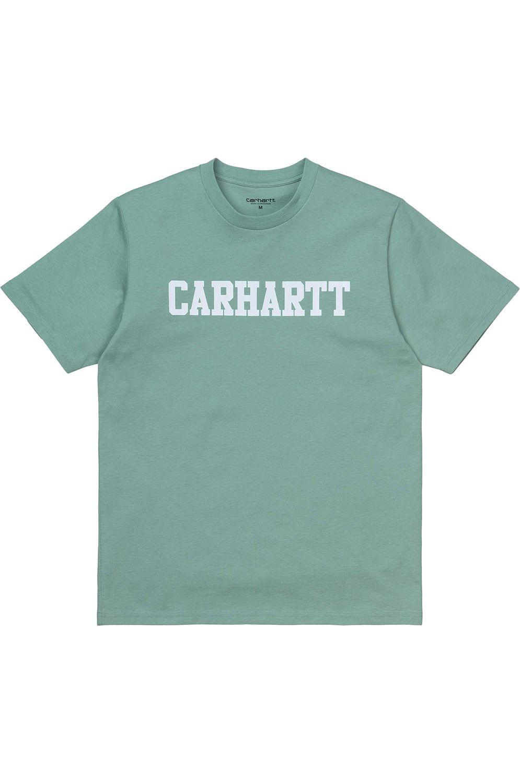 Carhartt WIP T-Shirt COLLEGE Zola/White