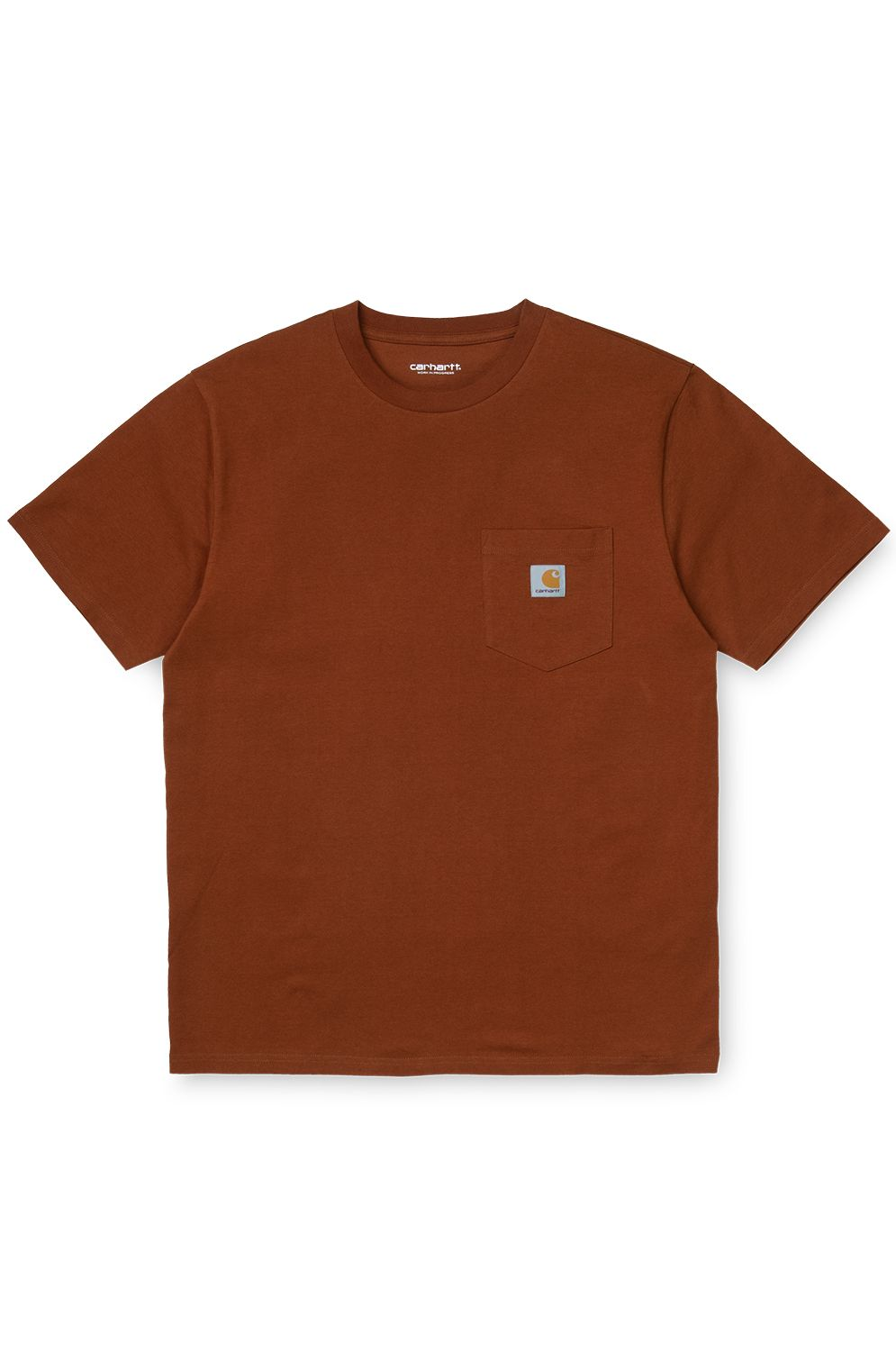 T-Shirt Carhartt WIP S/S POCKET T-SHIRT Brandy