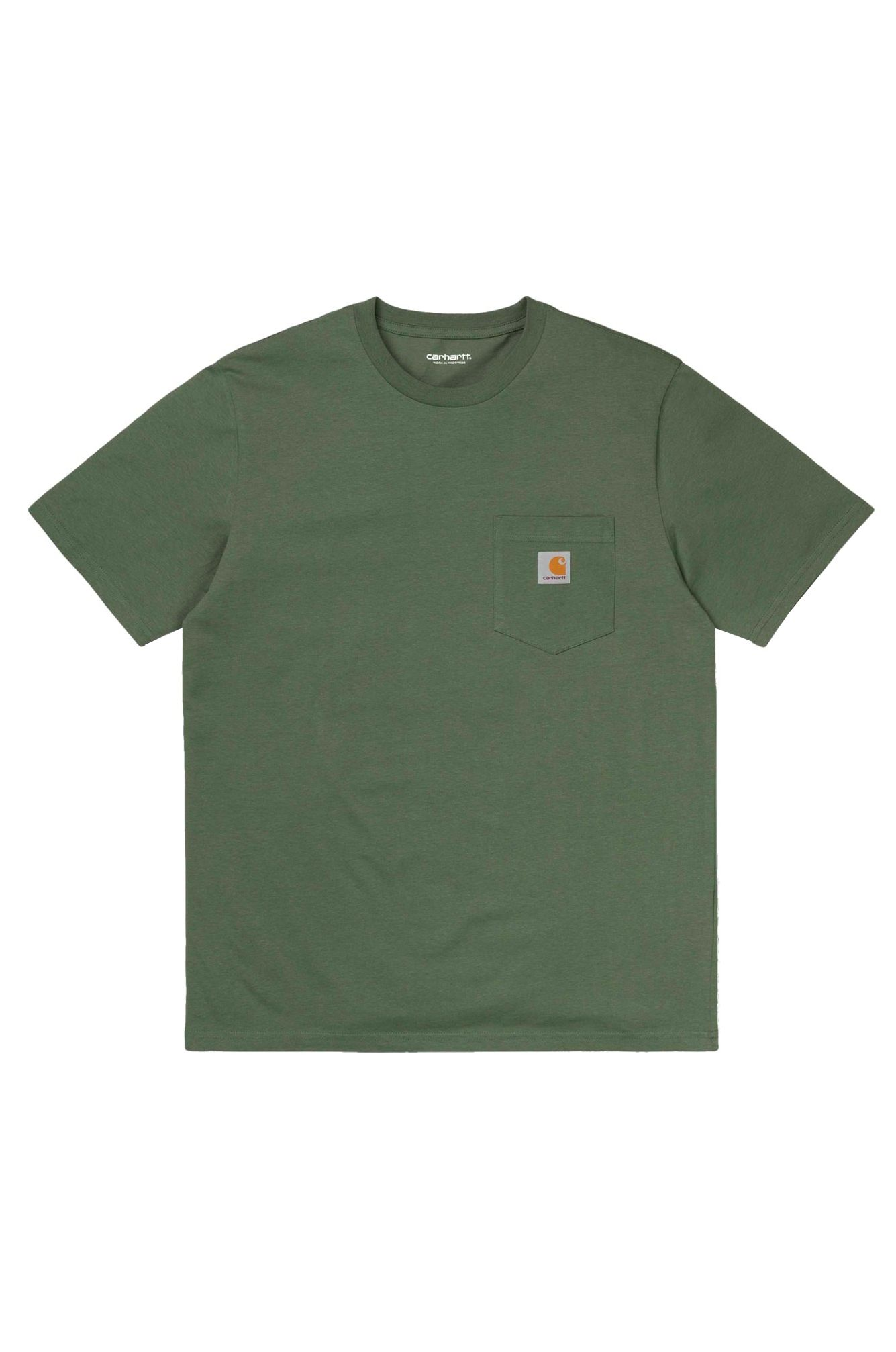 T-Shirt Carhartt WIP S/S POCKET T-SHIRT Dollar Green