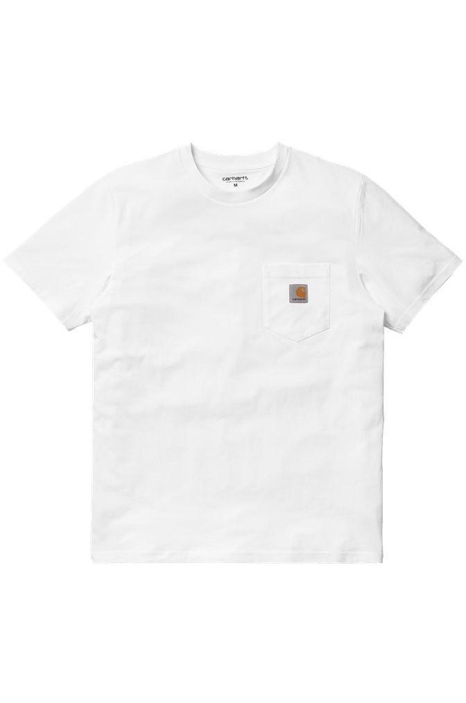 Carhartt WIP T-Shirt POCKET White