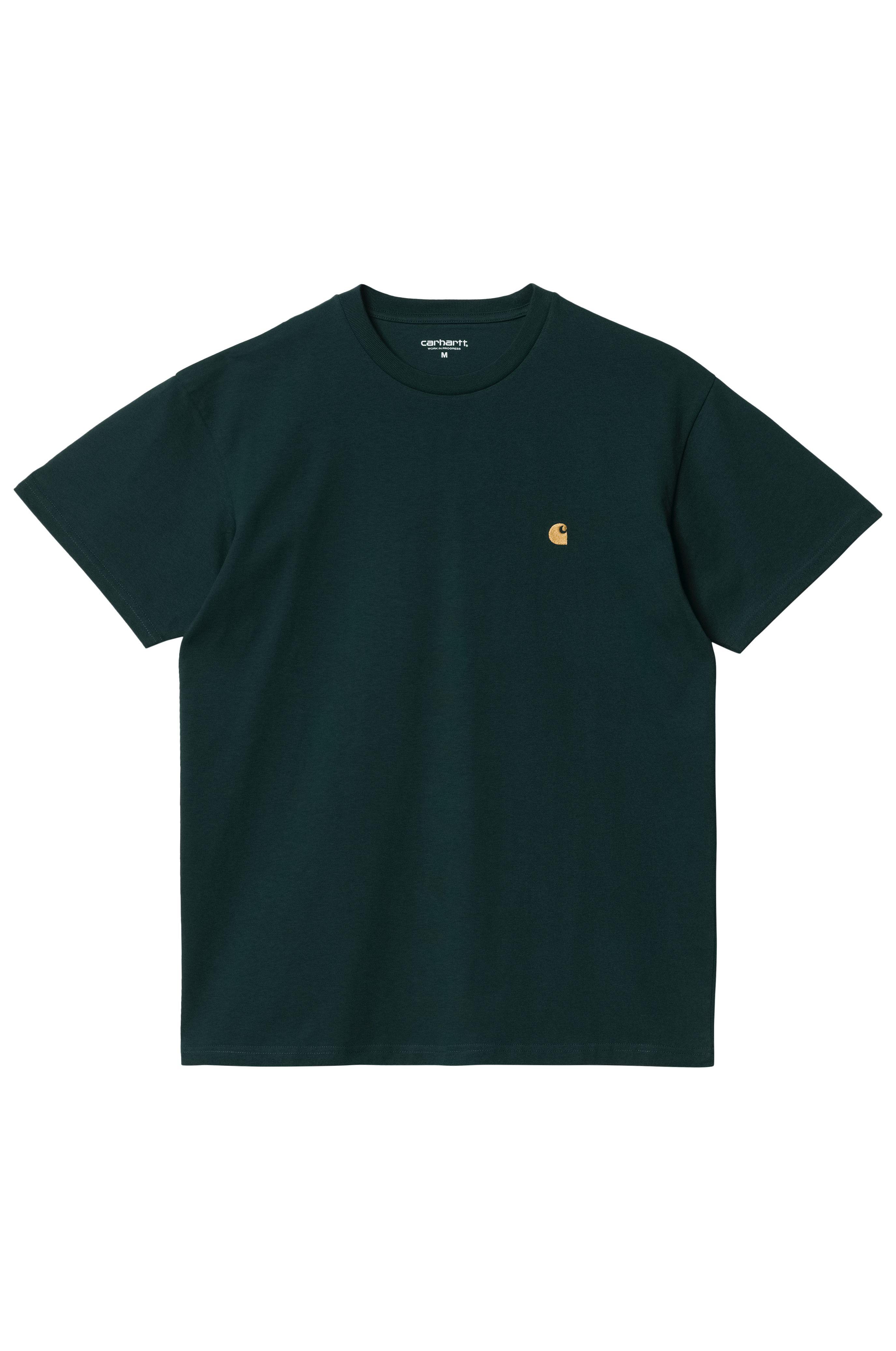 Carhartt WIP T-Shirt CHASE Frasier/Gold