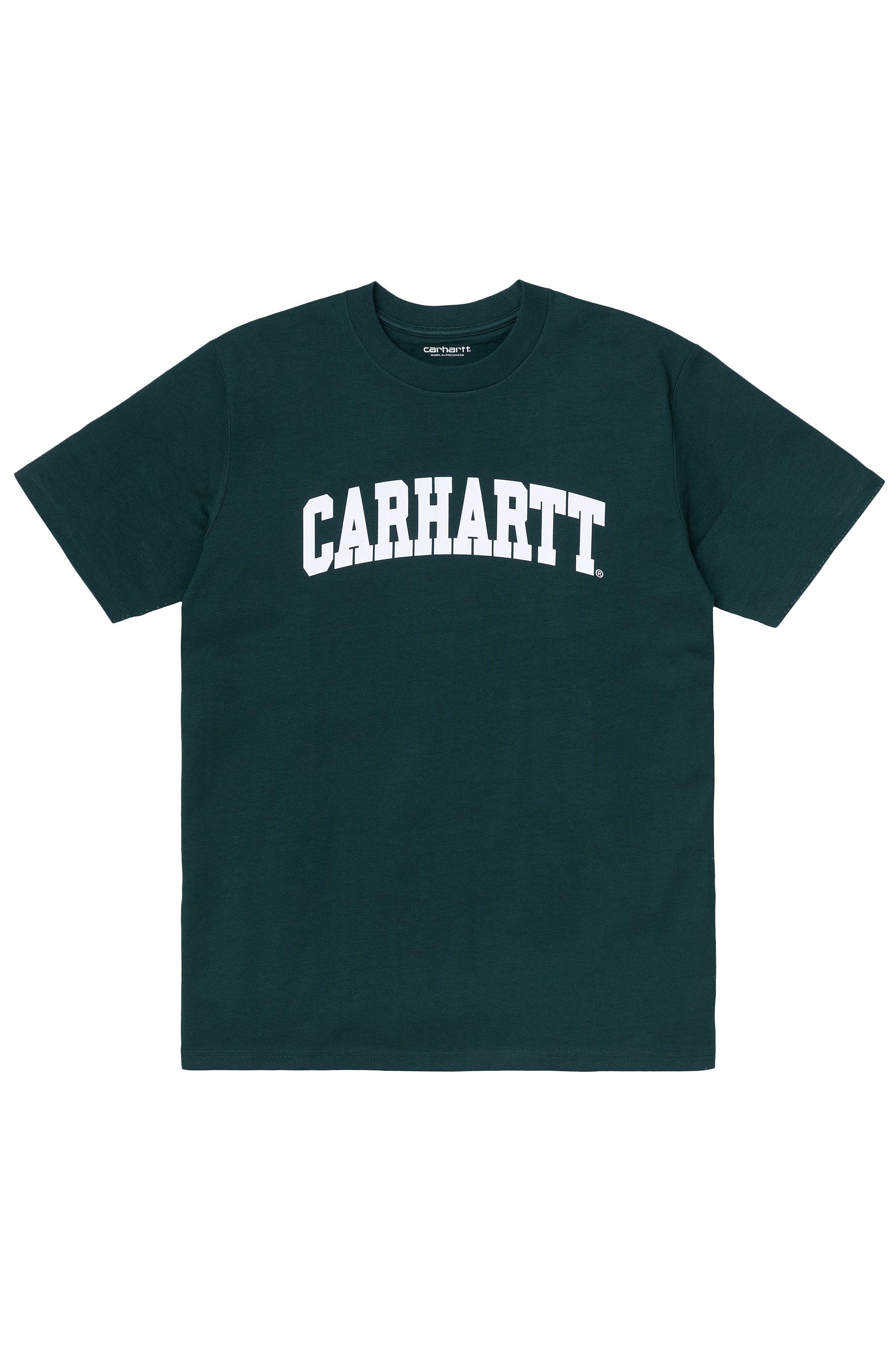 Carhartt WIP T-Shirt UNIVERSITY Frasier/White