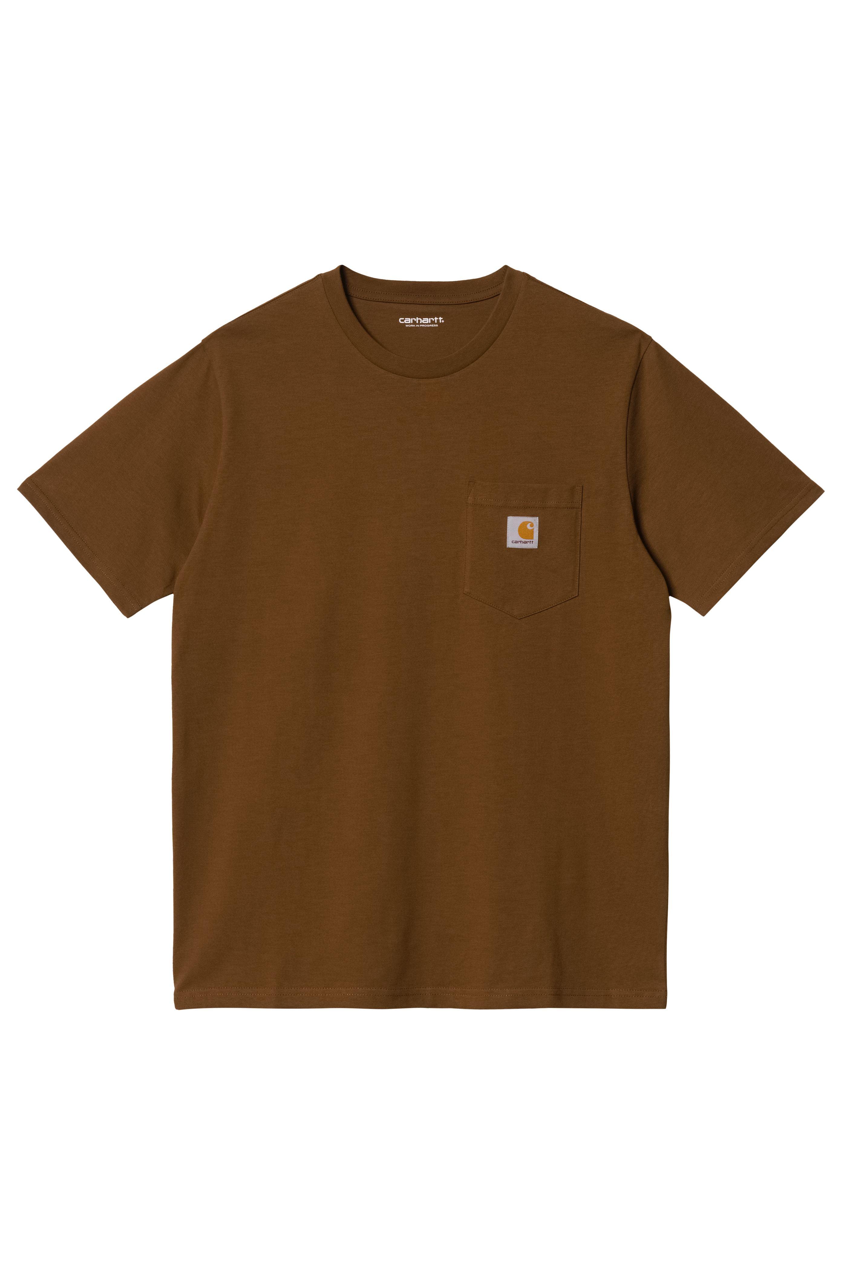 Carhartt WIP T-Shirt POCKET Tawny