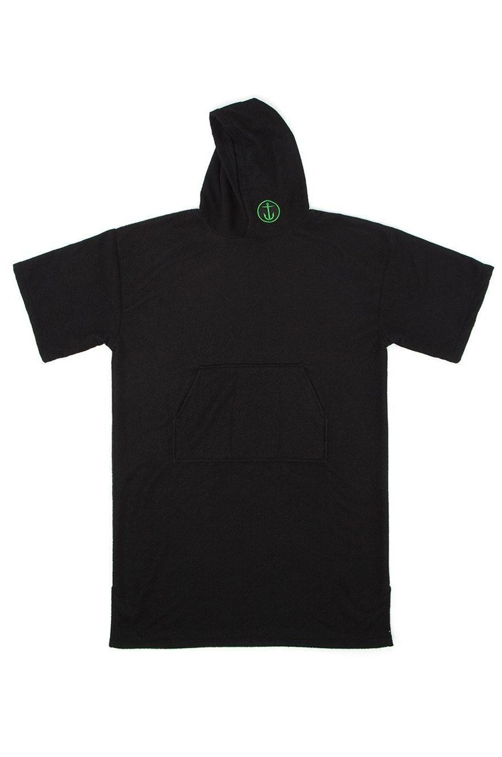 Captain Fin Poncho CHANGING ROBE Black