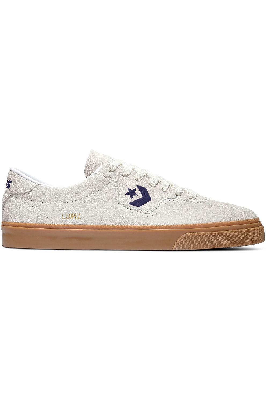 Tenis Converse LOUIE LOPEZ PRO OX Egret/Bold Mandarin/Gum