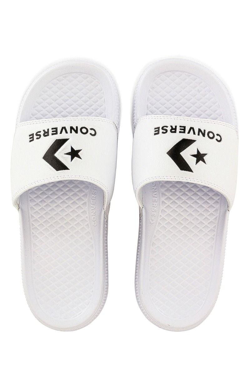 Converse Sandals ALL STAR SLIDE SLIP White/Black/White