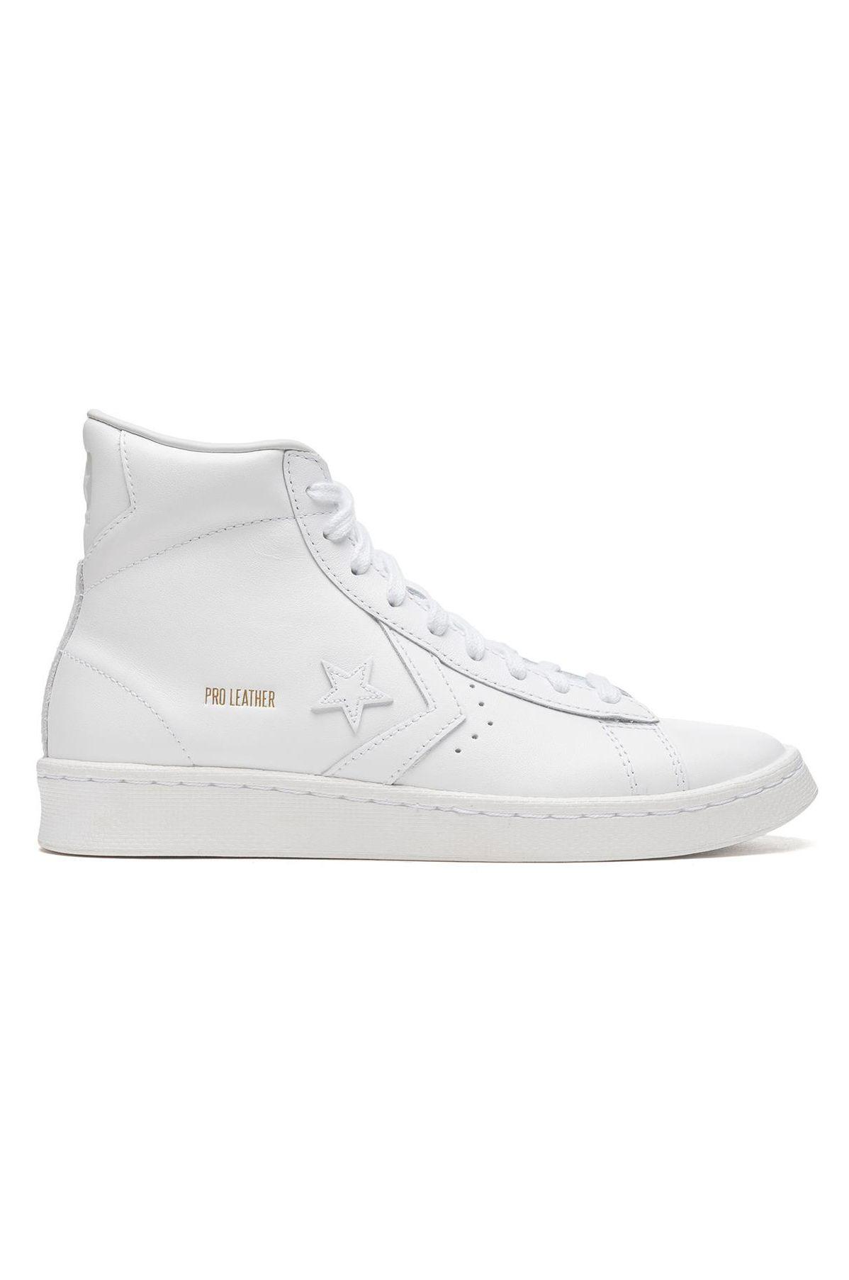 Tenis Converse PRO LEATHER HI White/White/White