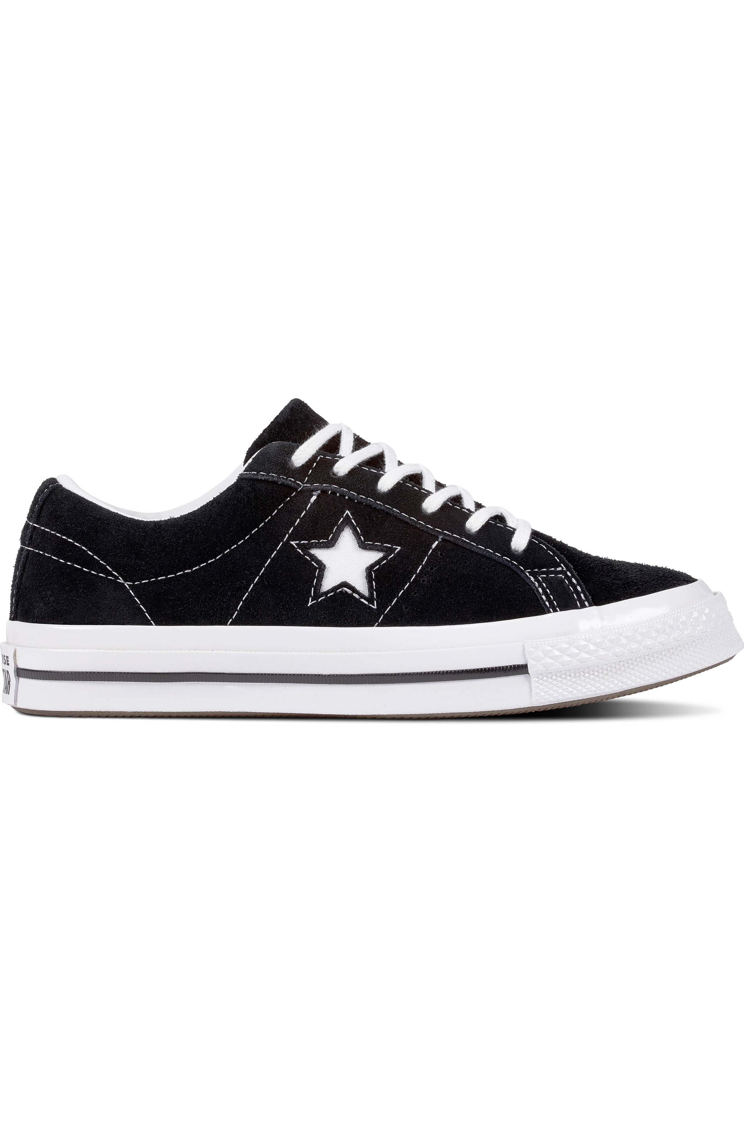 Tenis Converse ONE STAR Black/White/White