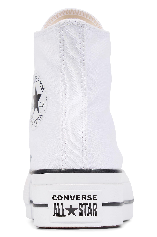 Tenis Converse CHUCK TAYLOR ALL STAR LIFT HI White/Black/White