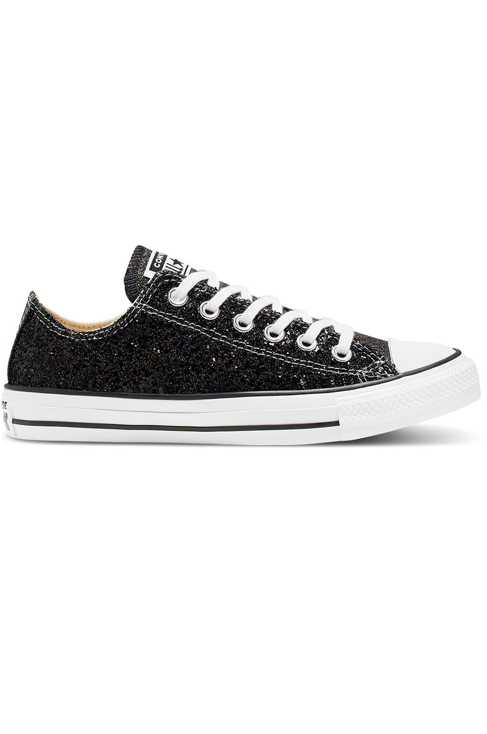 Converse Shoes CHUCK TAYLOR ALL STAR - OX Black/Silver/White