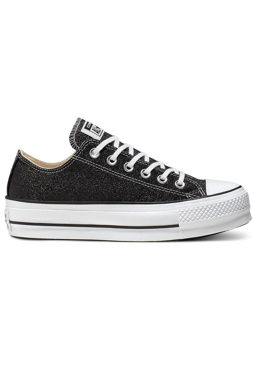 Converse Shoes CHUCK TAYLOR ALL STAR LIFT - OX Black/White/Black