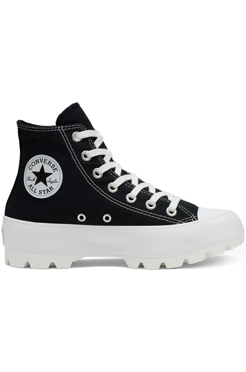 Tenis Converse CHUCK TAYLOR ALL STAR LUGGED HI Black/White/Black