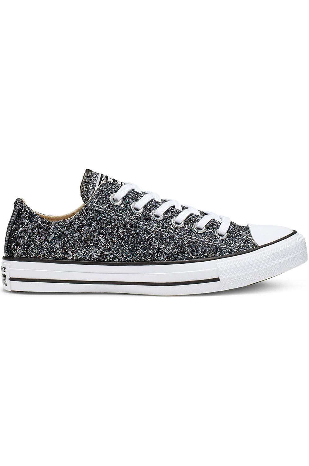 Converse Shoes CHUCK TAYLOR ALL STAR OX Silver/Black/White