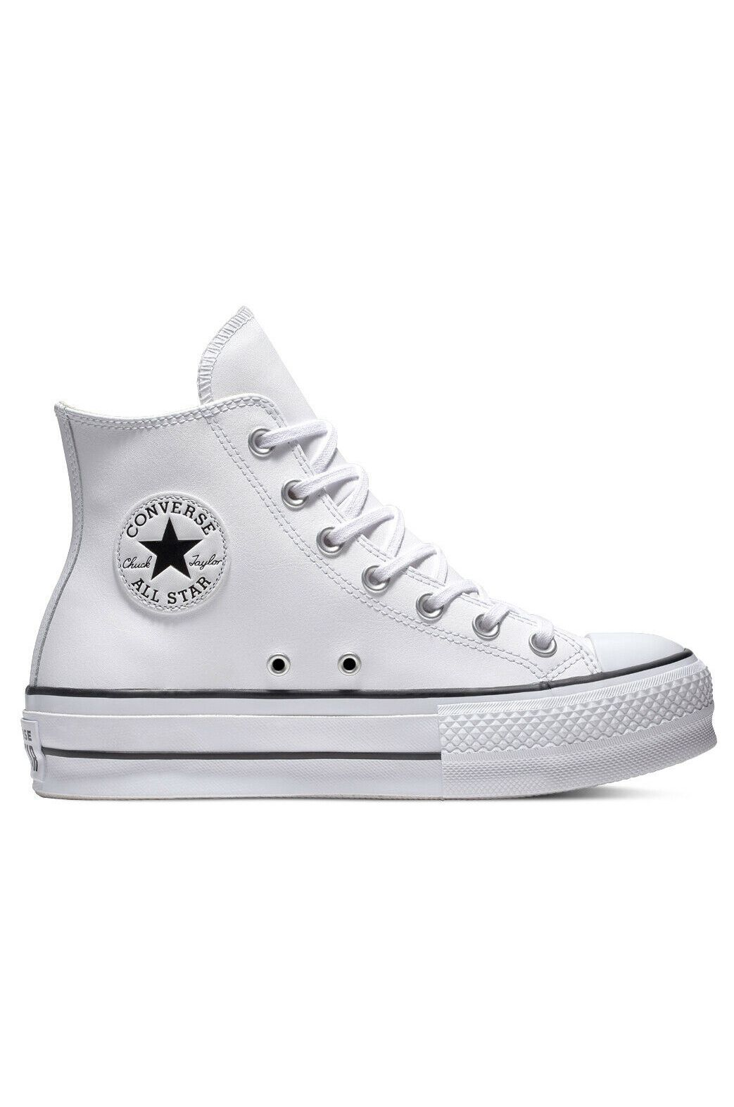 Tenis Converse CHUCK TAYLOR ALL STAR LIFT HI White/Black/White