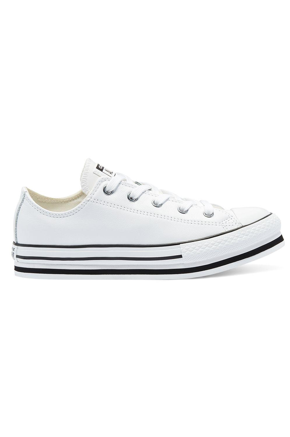 Converse Shoes CHUCK TAYLOR ALL STAR PLATFORM EVA OX White/Black/Egret
