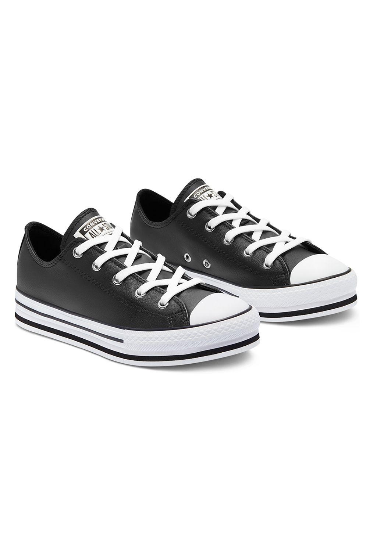 Tenis Converse CHUCK TAYLOR ALL STAR PLATFORM EVA OX Black/White/Black