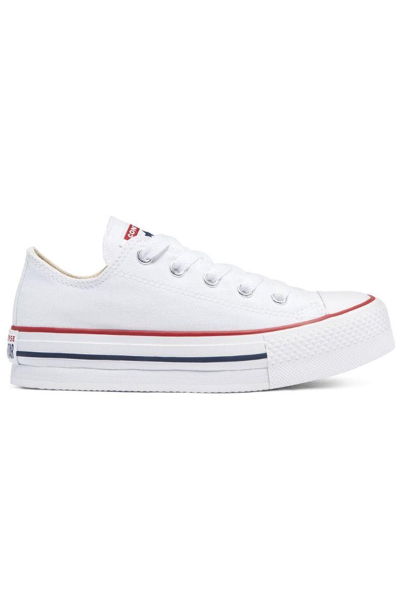 Tenis Converse CHUCK TAYLOR ALL STAR EVA PLATFORM OX White/Garnet/Midnight Navy