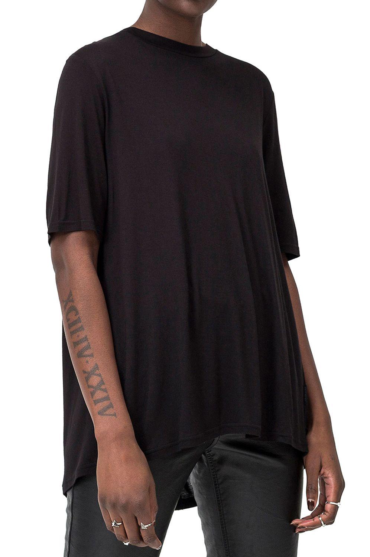 T-Shirt Cheap Monday CENTER Black