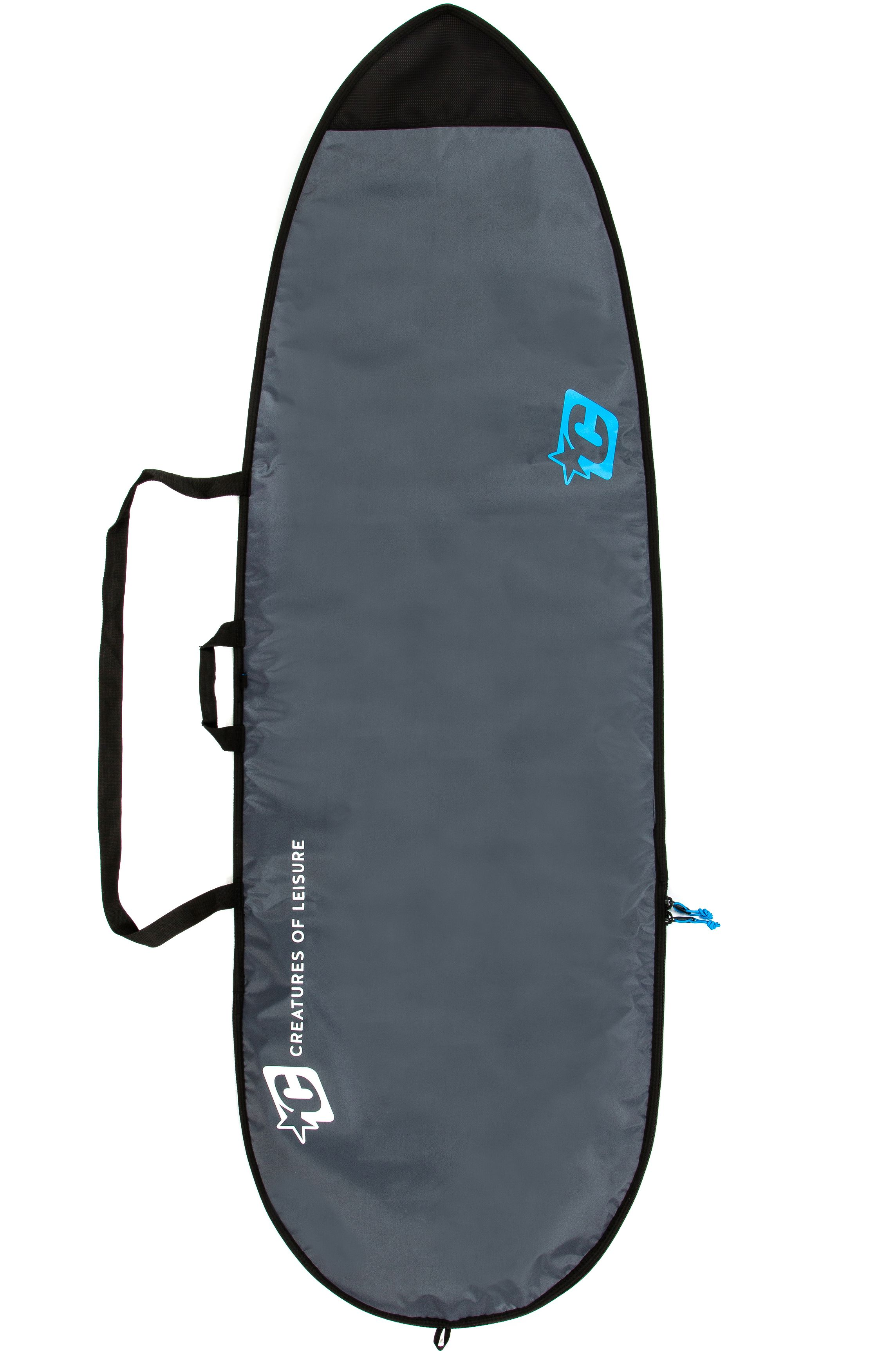 Creatures Boardbag 5'10 FISH LITE Charcoal Cyan