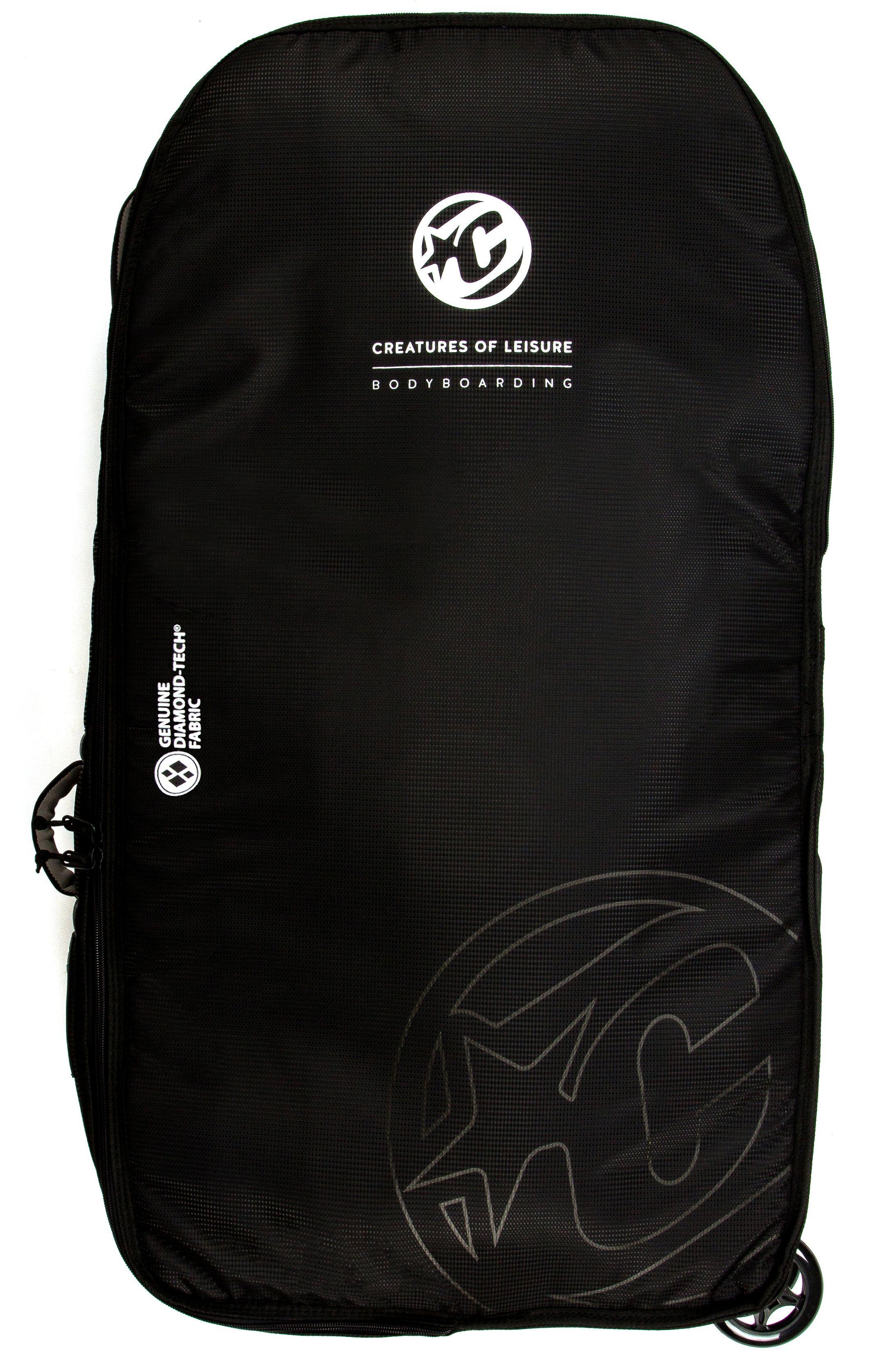 Creatures Boardbag BODYBOARD QUAD WHEELY 10mm Black Charcoal