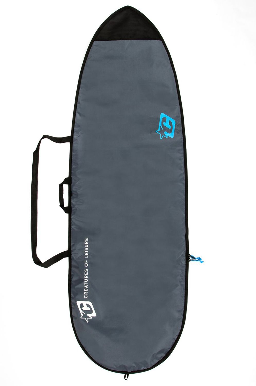 Creatures Boardbag 6'3 FISH LITE Charcoal Cyan