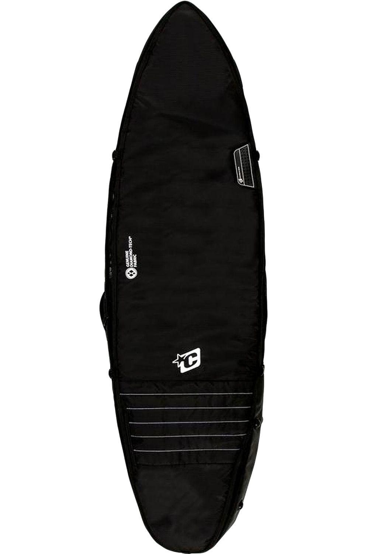 Creatures Boardbag 6'7 SHORTBOARD TRIPLE Black White
