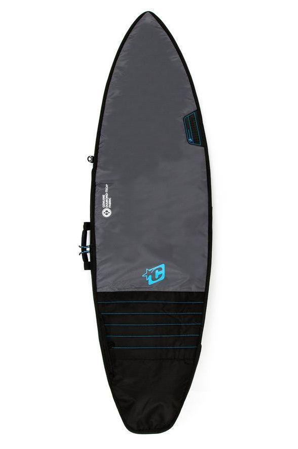 "Creatures Boardbag 6'7"" SHORTBOARD DAY USE - TONAL COLLECTION Charcoal Cyan"