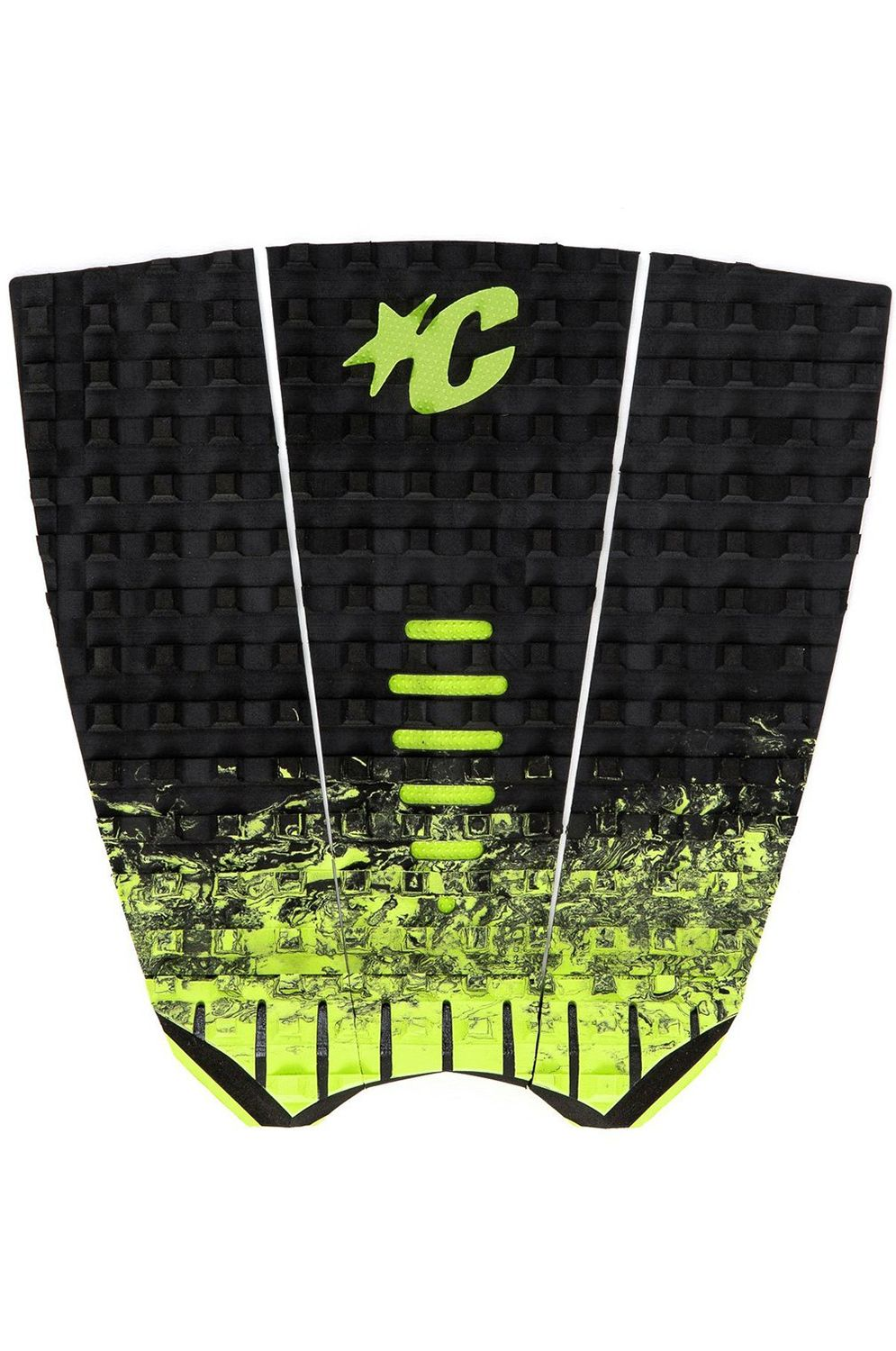Deck Creatures MICK FANNING Black Fade Lime