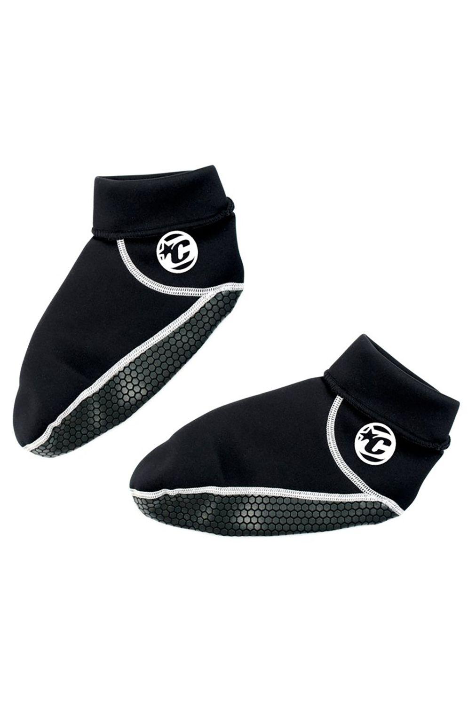 Creatures Neoprene Socks NEO FIN SOX - HI CUT MED Black