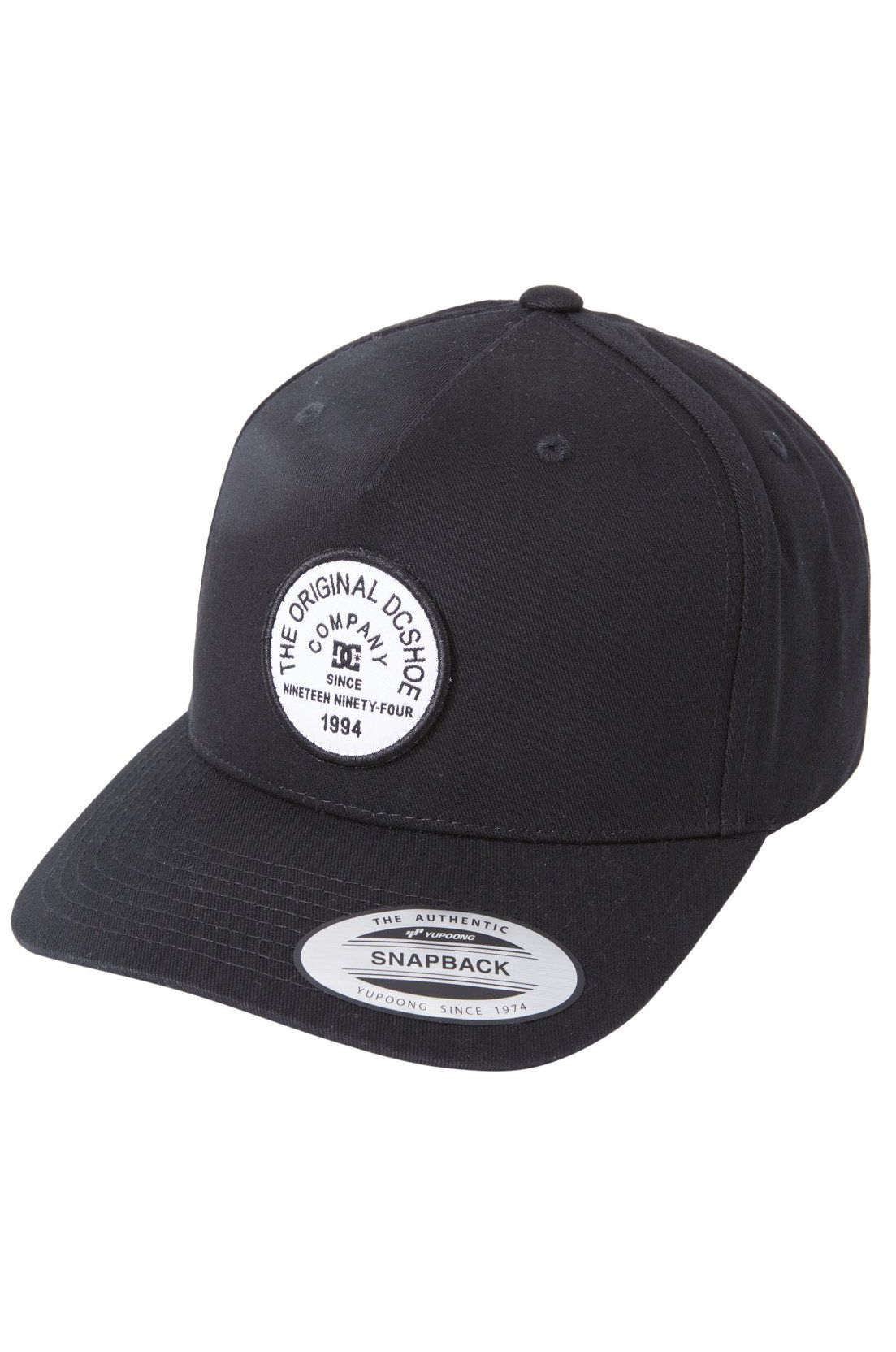 DC Shoes Cap   BADGER 2 SNAP Black