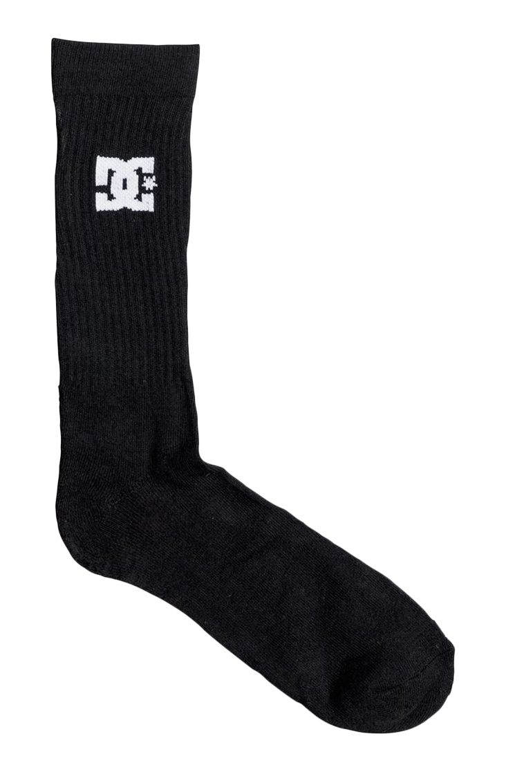 Meias DC Shoes SPP DC CREW 3PK Black